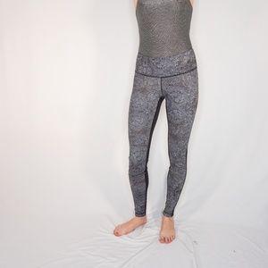 lululemon athletica Pants - LULULEMON High Rise Wunder Under Contrast Print
